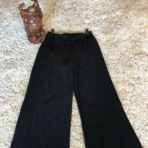 Chico's Traveler Wide leg Black Pant